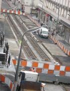 travaux tram juin 2012 photo Marie Remande