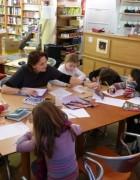 Un atelier qui va ravir les enfants qui aiment écrire!