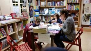 Atelier à la librairie jeunesse Libr'enfants - Photo Anne Javet