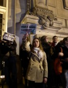 """la manifestation spontanée pour """"Charlie"""" le 7 janvier 2015, place jean-Jaurès Tours"""