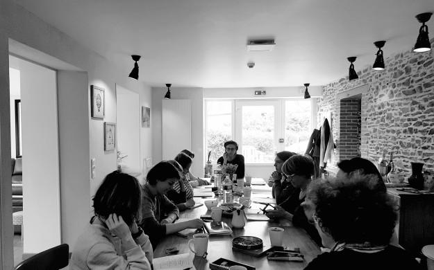 Atelier écriture Tagar 2019 Photo Claudiane Huvelin